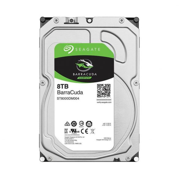 "Seagate BarraCuda 8TB 256MB SATA3 3,5""  (ST8000DM004)"