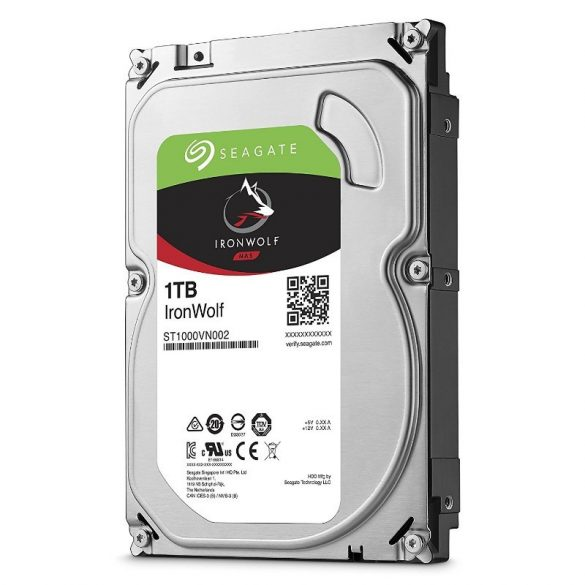 "Seagate IronWolf 1TB 5900rpm 64MB SATA3 3,5""  (ST1000VN002)"