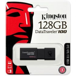 Kingston 128GB Data Traveler 100 Generation 3 USB 3.0  (black) (DT100G3/128GB)