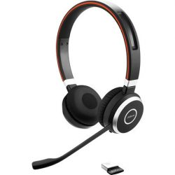 Jabra EVOLVE 65 MS headset (Fekete) (6599-823-309)