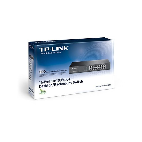 TP-Link TL-SF1016DS rack switch (TL-SF1016DS)