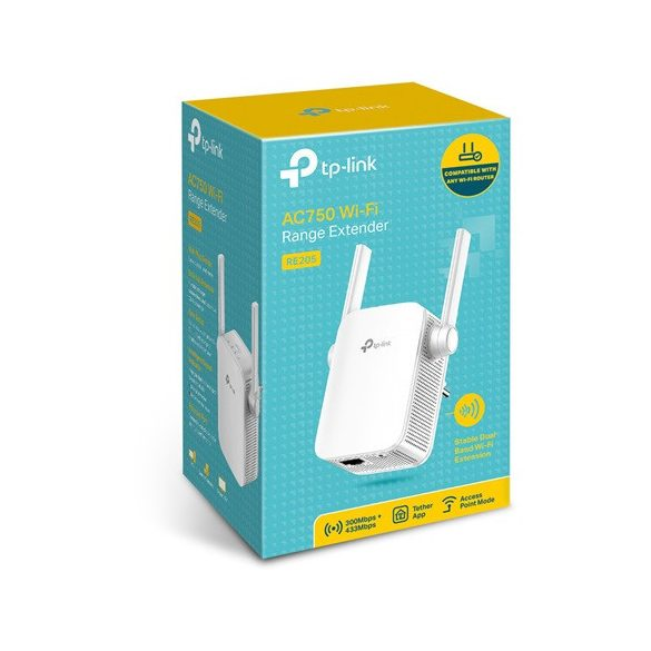TP-Link RE205 AC750 Dual-Band Wi-Fi range extender (RE205)