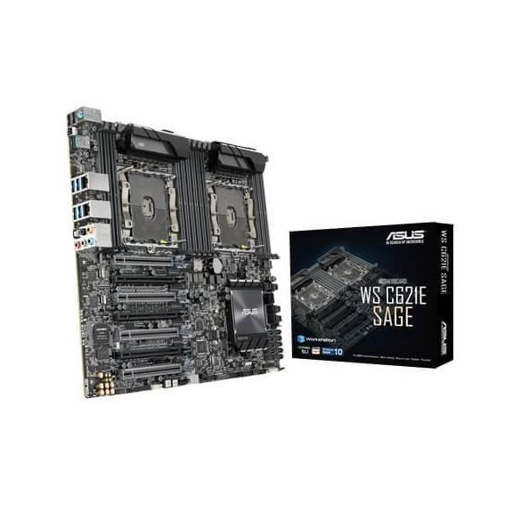 ASUS WS C621E SAGE (Intel CPU onboard) (90SW0020-M0EAY0)