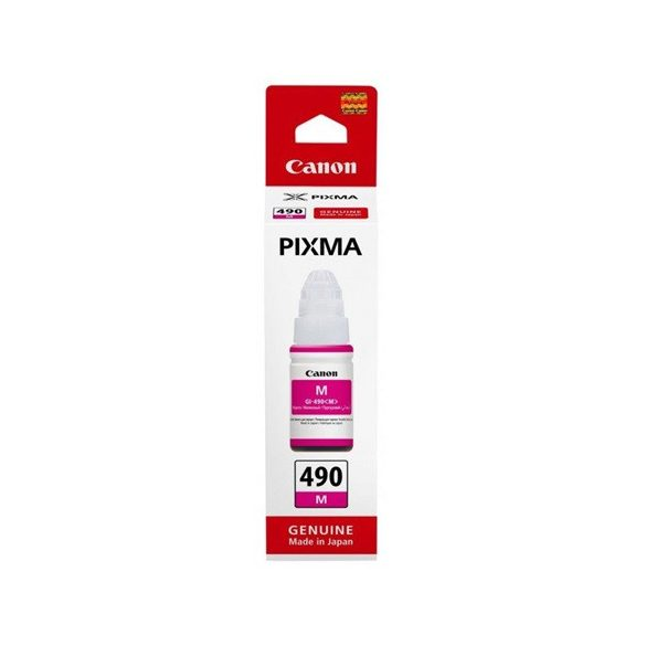 Ink bottle Canon GI-490 magenta | 70 ml (0665C001)