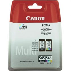 Canon PG-545/CL-546 MULTIPACK W/O SEC VALUE PACK BLACK & COLOUR CTDGS (8287B005)