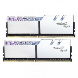 G.SKILL 16GB Trident Z Royal DDR4 3200MHz CL16 KIT (F4-3200C16D-16GTRS)